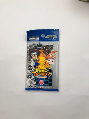 Sealed Japanese Digimon Adventure Series 1 Booster Packs for Sale in Boston, MA
