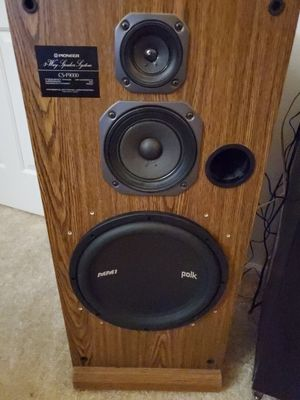 Pioneer Floor Speakers and 7.1 A/V Reciever for Sale in Wilsonville, OR