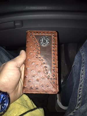Authentic ostrich wallet for Sale in Corpus Christi, TX