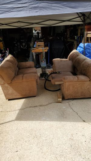 Micro swade couch and love seat for Sale in Niceville, FL
