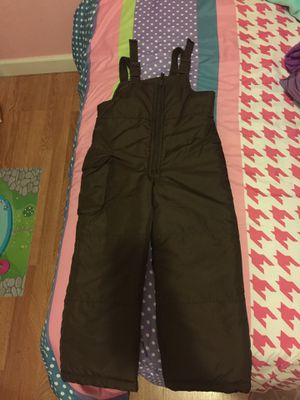 Overalls Snow Bib brown for kids for Sale in Miami, FL