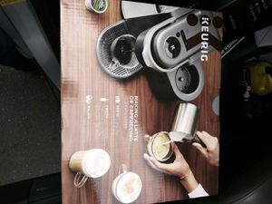 Keurig Cafe espresso and latte machine for Sale in Tacoma, WA