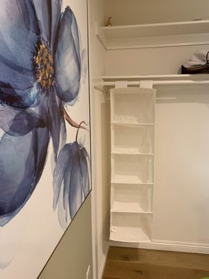 Hanging Shelves Hanging Closet Organizer storage 90% New T:48.9 ,W:13 for Sale in Arcadia, CA