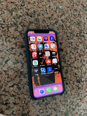 Verizon Apple iPhone X 256GBB for Sale in Silver Spring, MD