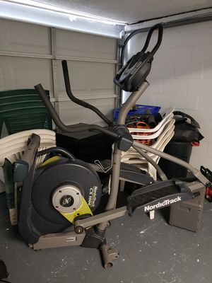 Free - nordictrack elliptical - used for scrap for Sale in Pittsburgh, PA