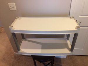 Plastic Shelving 2-Tier for Sale in Ashburn, VA