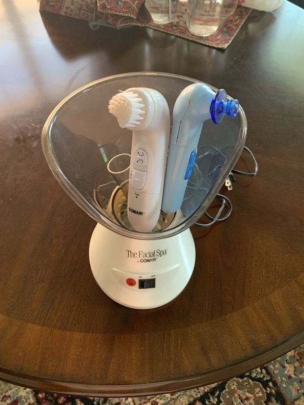 Conair Personal Facial Steamer with pores cleaner & face massager