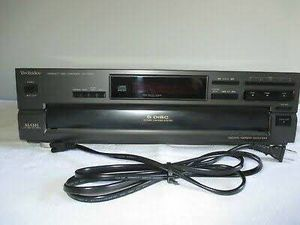 TECHNICS SL-PD647 5-DISC CD CHANGER With Remote and manual for Sale in Cypress, CA