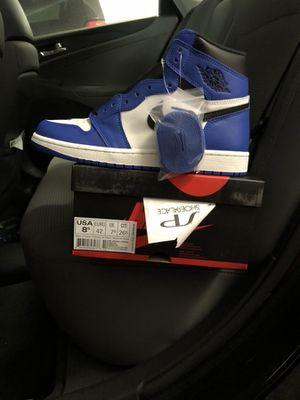 "Air Jordan 1 ""Game Royal"" size 8.5 for Sale in Dallas, TX"