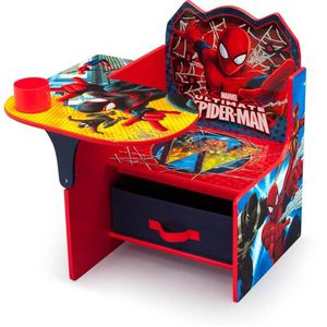Spider-Man Chair Desk with Storage Bin For Kids' Learning Time for Sale in Los Angeles, CA