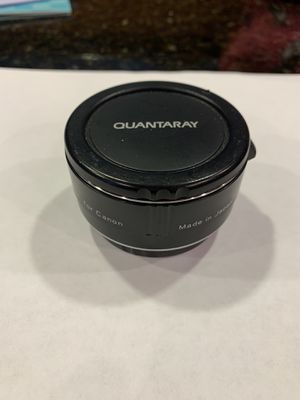 Quantaray 2x zoom multiplier for Canon EOS for Sale in Renton, WA