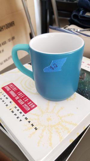 Small blue mug for Sale in Tucson, AZ