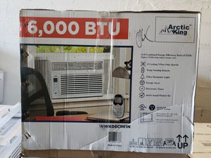 6000btu AIR CONDITIONER AC UNIT AIRE ACONDICIONADO portable portatil windows AC wall AC AIR conditioning for Sale in Miami, FL