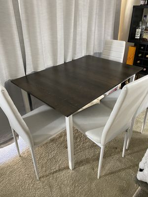 White and gray dining table for Sale in San Jose, CA
