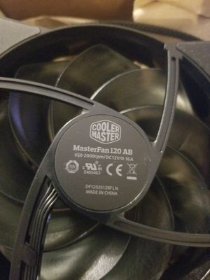 Cooler Master Computer Fans 120mm for Sale in Los Angeles, CA