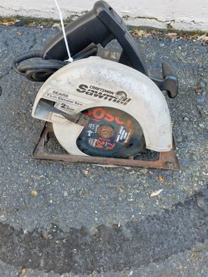 CRAFTSMAN CIRCULAR SAW, SAWMILL, 2-1/8 HP for Sale in Rockville, MD