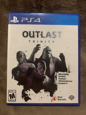 Outlast Trinity (PS4) for Sale in Titusville, FL