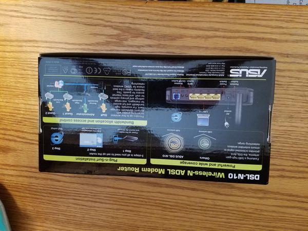 NEW ASUS DSL-N10 MODEM