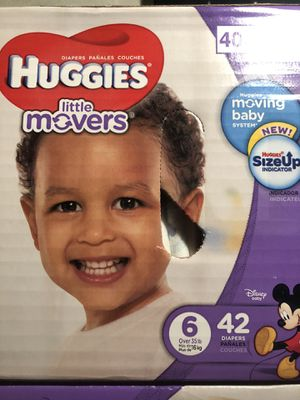 Huggies size 6 42 ct for Sale in McKeesport, PA