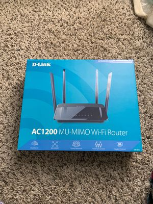 D-link WiFi router for Sale in Stone Mountain, GA