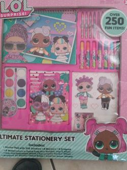 LOL SURPRISE ULTIMATE STATIONARY SET for Sale in Bell Gardens,  CA