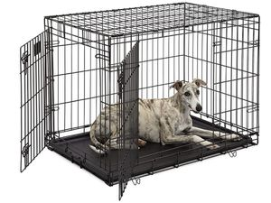 Life Stages LS-1636DD Double Door Folding Crate for Intermediate Dogs(41 - 70lbs) for Sale in Roswell, GA