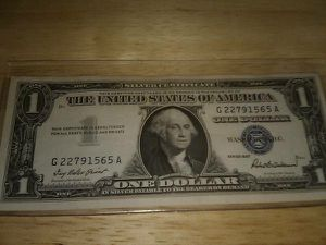 1957 SILVER CERTIFICATE DOLLAR for Sale in Raleigh, NC