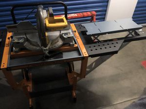 DeWalt Miter Saw and Portable Workstation Set for Sale in Hyattsville, MD