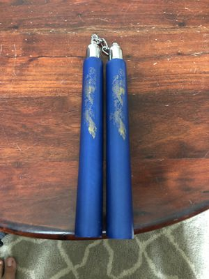 Blue nunchucks for Sale in Joplin, MO