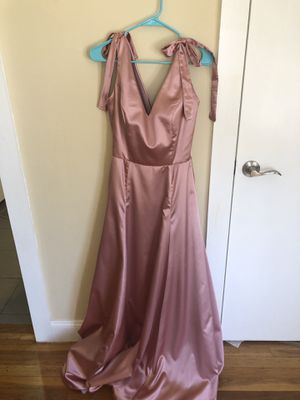 Floor length rose gold dress for Sale in Revere, MA