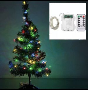 Copper LED wire battery Christmas tree lights for Sale in Woodbridge, VA