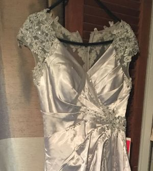 Dress size 8 new silver for Sale in Modesto, CA
