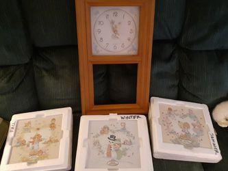 Precious Moments Clock for Sale in Morgantown,  WV