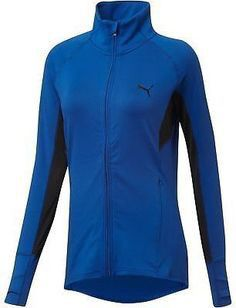 PUMA Women's En Route Blue/Black Mesh Jacket for Sale in Portland, OR