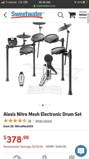 Drum set (electronic) for Sale in Westminster, CA