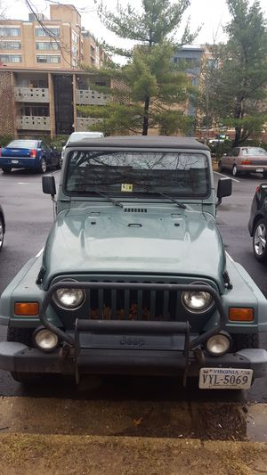1999 Jeep Wrangler for Sale in Alexandria, VA