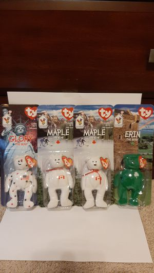 McDonalds ty beanie baby collection lot 1990s rare for Sale in Garland, TX