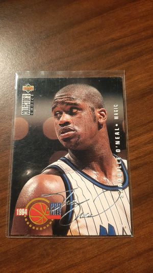 Upper Deck Collectors Choice, Shaquille O'neal 1994 Orlando magic cards for Sale in Clarksburg, WV