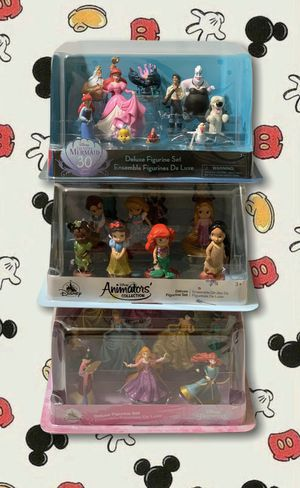 Disney collectible figures for Sale in Lawrence Township, NJ