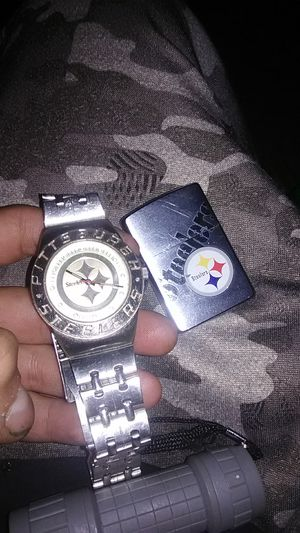 Pittsburgh Steelers watch and zipper for Sale in Mount Juliet, TN