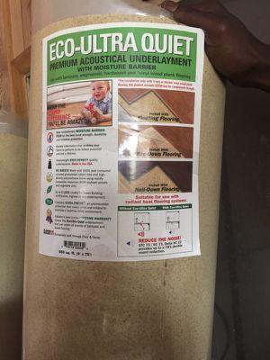 Premium Acoustical Flooring Underlayment for Sale in Lakeland, FL