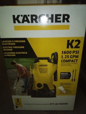 Karcher K2 Plus 1,600 PSI 1.25 GPM Water Electric Pressure Washer for Sale in Phoenix, AZ