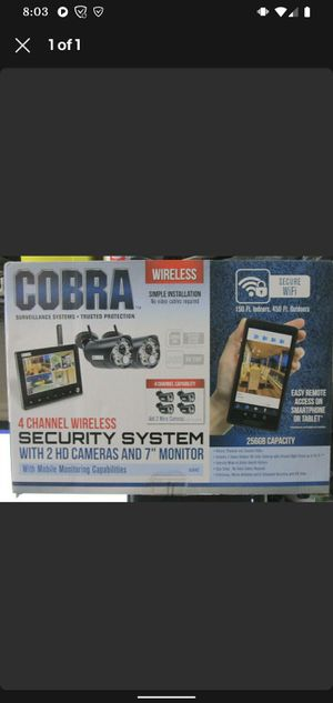 Security system for Sale in Roswell, GA