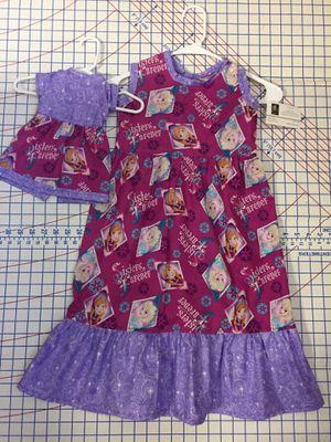 Frozen princess dress size 5/6X for Sale in Cambridge, VT