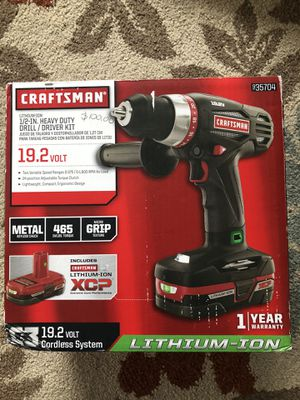 Heavy duty drill craftsman for Sale in Carrollton, TX