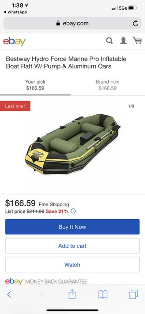Boat Raft for Sale in Vancouver, WA