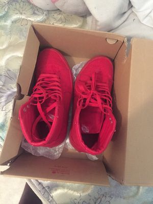 Red vans size 6 for Sale in West Palm Beach, FL
