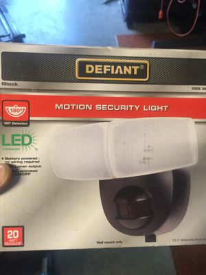 Led light with motion sensor for Sale in Everett, WA