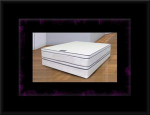 Queen mattress double pillowtop with box spring for Sale in Manassas, VA