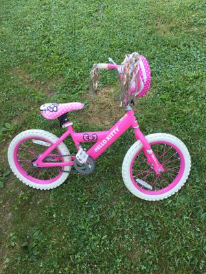 Hello kitty bike for Sale in Parkersburg, WV